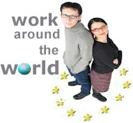 work around the world